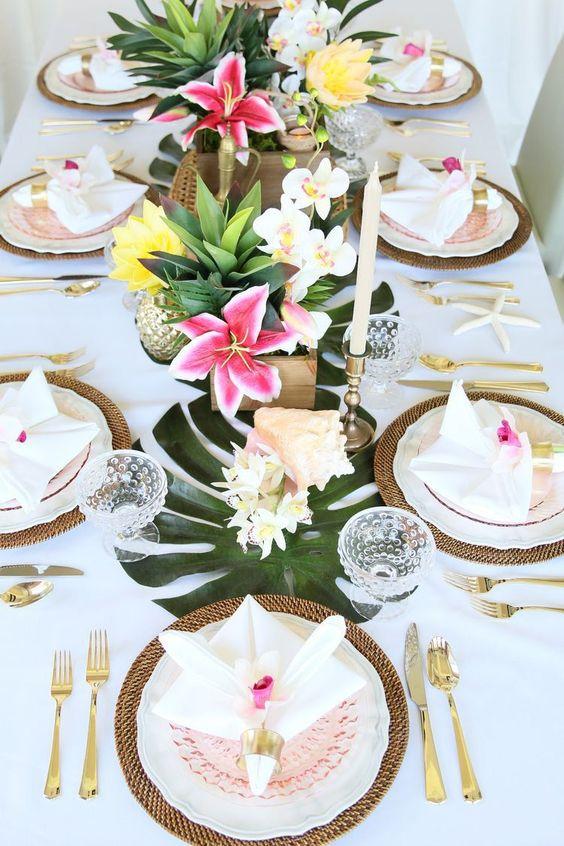 table-theme-tropical-decoration
