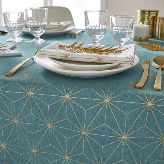 nappe-table-deco-bleu-doré